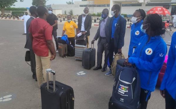 Jeux Olympiques : trois athlètes tchadiens se rendent à Tokyo