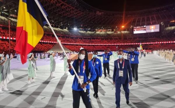 JO Tokyo : le drapeau du Tchad flotte à la cérémonie d'ouverture