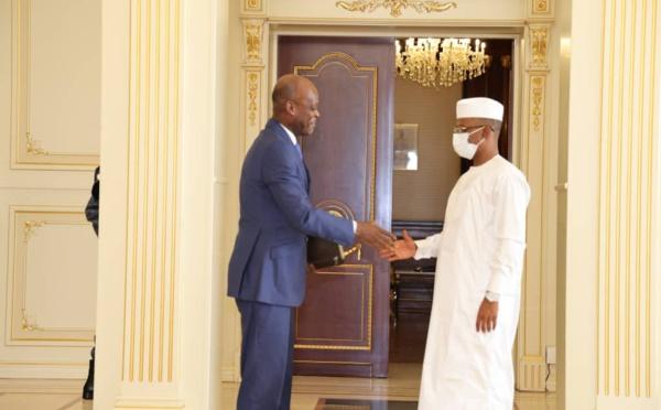 Tchad : le chef de la diplomatie togolaise transmet un message au président du CMT