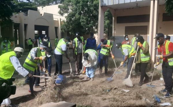 Tchad : Help For Miskine répond présent pour la journée du nettoyage