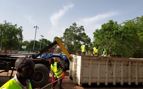 Tchad : Moov Africa accompagne la mairie dans l'assainissement de la ville de N'Djamena