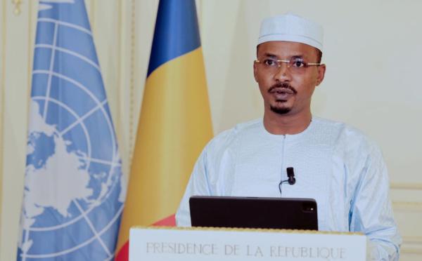 Assemblée générale de l'ONU : la déclaration du président du CMT, Mahamat Idriss Deby