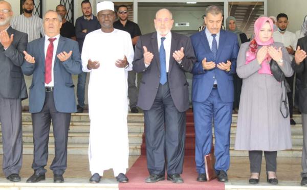 الشيخ ولر يتباحث مع رئيس المجلس الإسلامي حول مسألة التطرف في الساحل