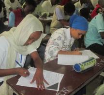 En images : composition du baccalauréat au Tchad