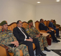Le chef de la transition soudanaise reçu par Idriss Déby à N'Djamena