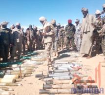 Tchad : de nombreuses armes lourdes saisies par l'armée au Tibesti