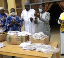 Tchad : le gouverneur du Guéra réceptionne 2500 cache-nez, don du MPS