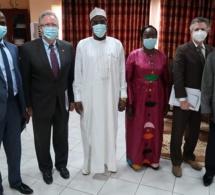 Tchad : Le ministre de la Justice a reçu un diplomate de l'ambassade des États-Unis