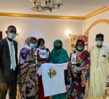 La plateforme Tchad D'abord reçue par la Première Dame