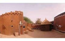 L'architecture tchadienne. Crédit photo : leclairegerard