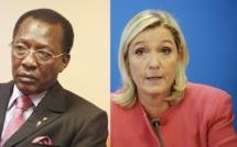Idriss Déby et Marine Le Pen, un front commun contre le Franc CFA ?