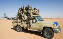 L'armée tchadienne. Crédits : /