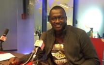 Nadjo Kaïna, porte-parole du mouvement citoyen IYINA. RFI/Florence Morice