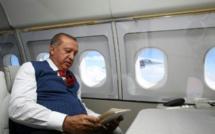 Le président turc Recep Tayyip Erdogan lors d'un déplacement entre Ankara et Istanbul, le 15 juillet 2017 / © TURKISH PRESIDENTIAL PRESS SERVICE/AFP/Archives / KAYHAN OZER