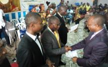 Côte d'Ivoire/Eglise Foursquare Cocody-II Plateaux : Le président national consacre 5 nominés au rang de diacre