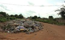 Des déchets au Togo. Crédits photo : DR