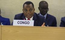 Jean Claude Gakosso à la tribune des Nations unies. ©