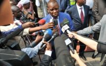 Henri Bouka face à la presse (photo d'archives)