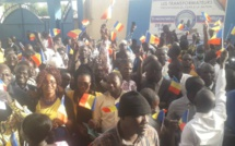 Des partisans des Transformateurs, samedi 25 janvier 2020 à N'Djamena. © Djibrine Haïdar/Alwihda Info