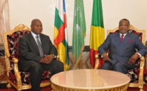 Tête à tête Touadera-Sassou (photo d'archives)