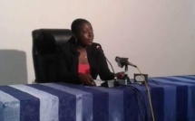 Destinée Doukaga, l'une des plus jeunes ministres du 1er gouvernement de la Nouvelle République