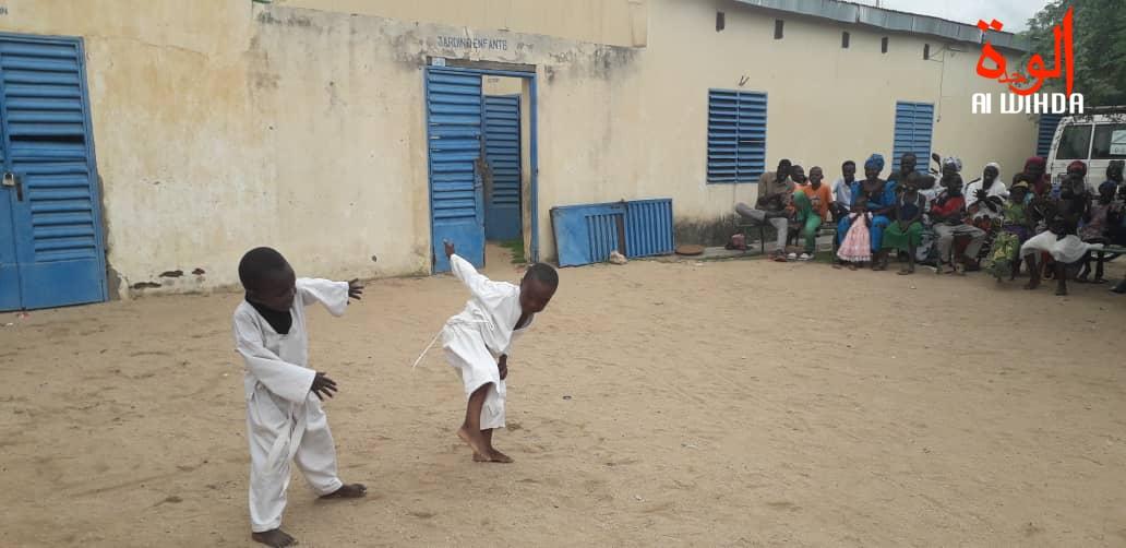 Taekwondo Abéché cérémonie